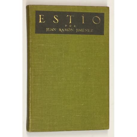 Obras de.. Estío (1915).