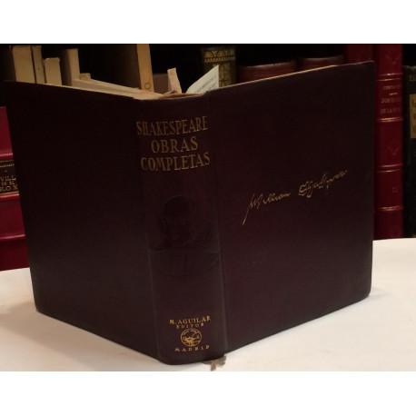 Obras Completas. Estudio preliminar, traducción y notas por Luis Astrana Marín. Primera versión íntegra del inglés, única en la