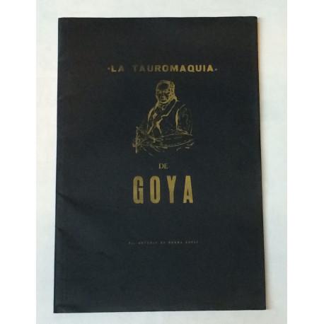 La Tauromaquia de Goya. Por Antonio de Horna.