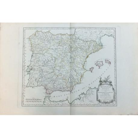 Hispania Antiqua - Mapa España Antigua.