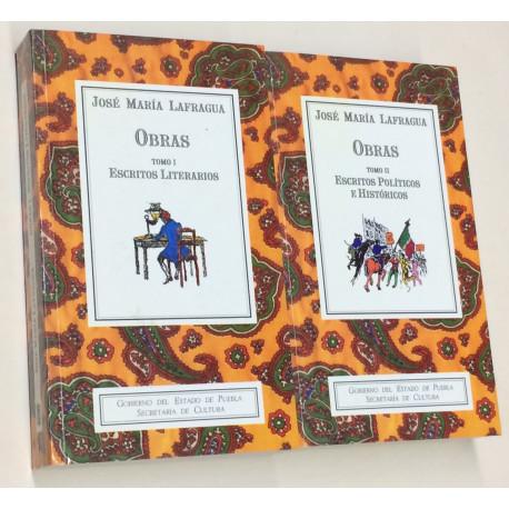 Obras. Tomo I: Escritos Literarios. Tomo II: Escritos políticos e históricos. Edición, prólogo y notas Fernando de Tola Habich