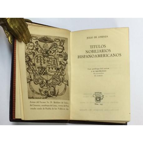 Títulos nobiliarios hispanoamericanos.