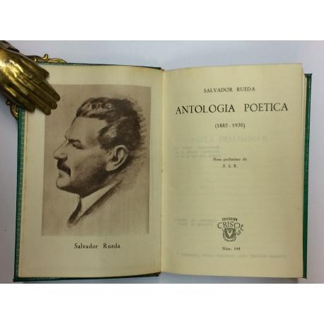 Antología Poética. (1885-1930).