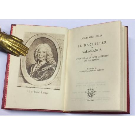 El Bachiller de Salamanca ó Aventuras de don Querubin de la Ronda.