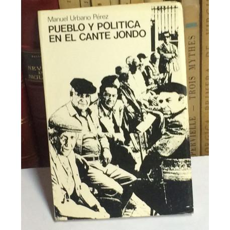 Pueblo y política en el cante jondo.