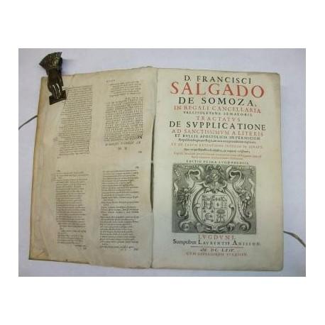 Tractatus de Supplicatione ad Santissimun a litteris et bullis apostolicis in perniciem Reipublicae, Regni, aut Regis, aut iuris