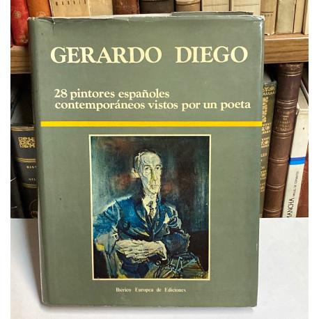 28 pintores españoles contemporáneos vistos por un poeta.