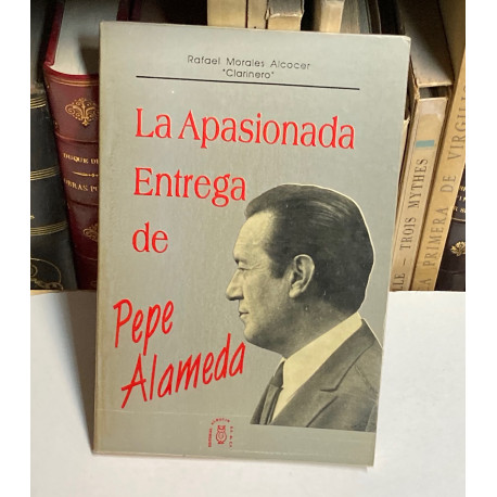 La apasionada entrega de Pepe Alameda.