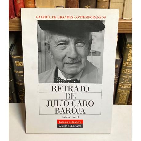 Retrato de Julio Caro Baroja.
