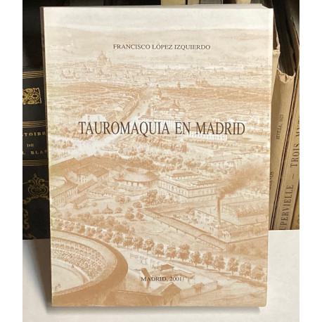 Tauromaquia en Madrid. artículos sobre historia taurina publicados en Anales IEM y Revista de Archivos, Bibliotecas y Museos.