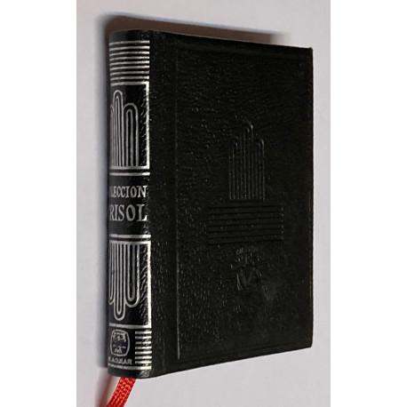 COLECCIÓN CRISOL. Relación de los volúmenes que la componen por orden alfabético de autores, orden numérico y clasificación por