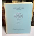 Tres novelas taurinas del 900. Prólogo y selección de Abelardo Linares.