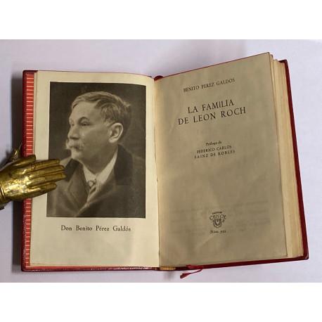 La familia de León Roch. Prólogo de Federico Carlos Sáinz de Robles.