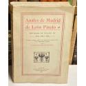 Anales de Madrid. Reinado de Felipe III. Años 1598 a 1621. Edición y estudio crítico del manuscrito de la Biblioteca Nacional.