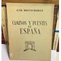 Caminos y Puentes de España. Conferencia leída en la Real Sociedad Geográfica el día 25 de noviembre de 1946.