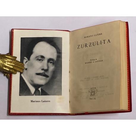 Zurzulita. Prólogo de Reicardo A. Latcham.