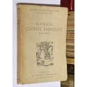 Manuel Curros Enriquez. Biografía. Prólogo de Ramón Cabanillas.