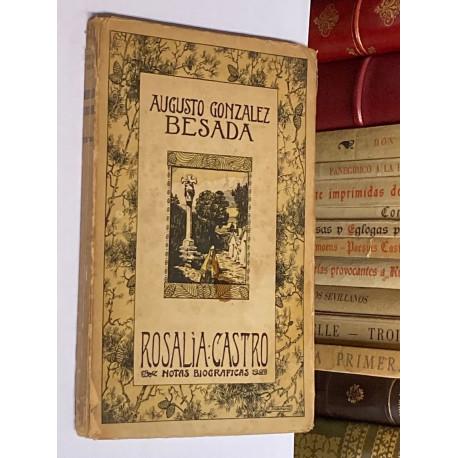 Rosalía de Castro. Notas biográficas.