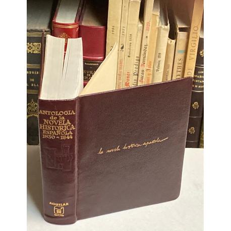 Antología de la Novela Histórica Española (1830-1844). Recopilación, estudio preliminar y preámbulos de Felicidad Buendía.