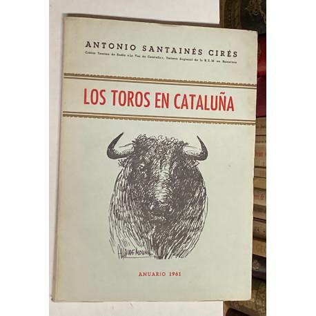 Los toros en Cataluña. Anuario 1961.