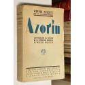 Azorín. Contribución al estudio de la literatura española a fines del siglo XIX. Versión directa del alemán.