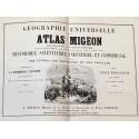 ATLAS MIGEON. Géographie Universelle. Dressé par DESBUISSON et A. T. CHARTIER. Revu par VUILLEMIN.