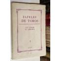 PAPELES DE TOROS nº 5. Sus libros. Su historia.