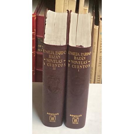 Obras Completas (Novelas y Cuentos). Estudio preliminar, notas y prólogos de Federico Carlos Sainz de Robles. 2 TOMOS.