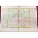 Géographie moderne: MAPA DEL SÁHARA, BARBARIA Y GUINEA (África).