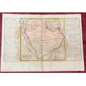 Géographie moderne: MAPA DE ARABIA (Asia).