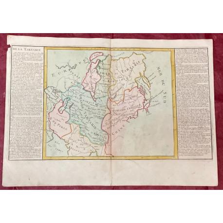 Géographie moderne: MAPA DE TARTARIA (Asia).