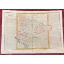 Géographie moderne: MAPA DEL REINO DE HUNGRÍA (Europa: Hungría, Croacia, Eslovenia, Turquía europea, Polonia, Transilvania).
