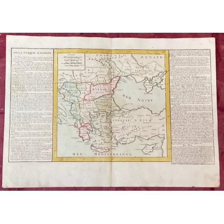 Géographie moderne: MAPA DE LA TURQUÍA EUROPEA.