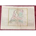 Géographie moderne: MAPA DE HOLANDA (Europa).
