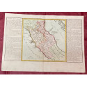 Géographie moderne: MAPA DE ITALIA NÁPOLES TOSCANA (Europa).