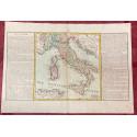Géographie moderne: MAPA DE ITALIA (Europa).