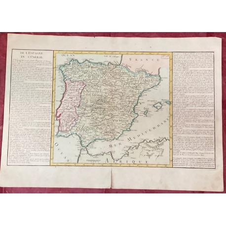 Géographie moderne: MAPA DE ESPAÑA.