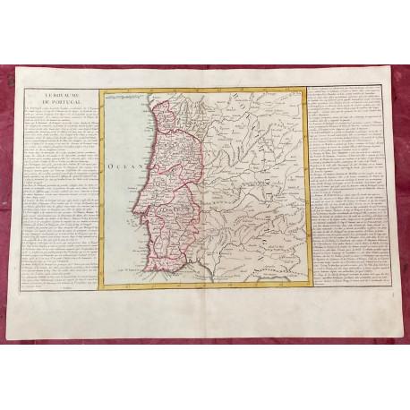 Géographie moderne: MAPA DE PORTUGAL Y PARTE DE ESPAÑA.