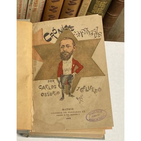 Crónicas Madrileñas. Precedidas de una carta de José Fernández Bremón.