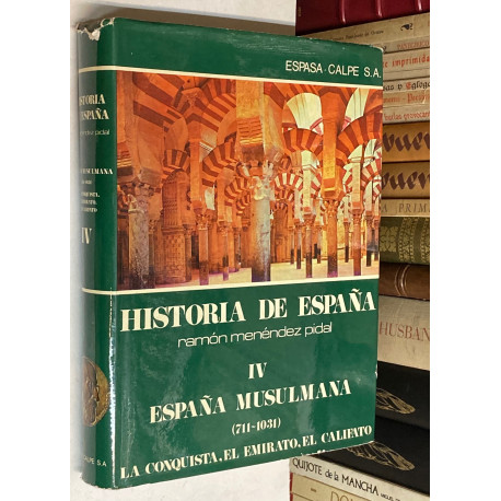 España musulmana (711 - 1031). La conquista. El emirato. El califato.
