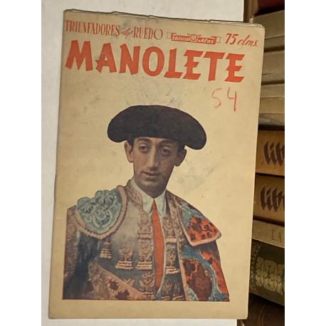 Triunfadores del Ruedo. Nº 1 (nueva época): Manolete.