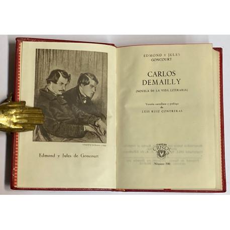 Carlos Demailly. (Novela de la vida literaria).