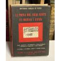 Antología CABALLO DE FUEGO. La poesía del siglo veinte en América y España.