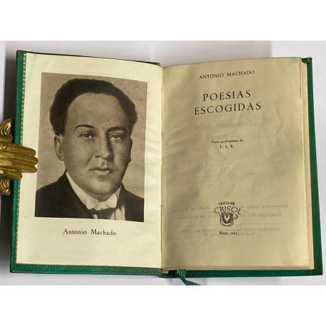 Poesías Escogidas. Nota preliminar de F.S.R.