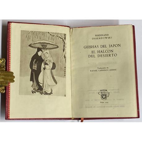 Geishas del Japón. El halcón del desierto. Traducción deRafael Cansinos Assens.