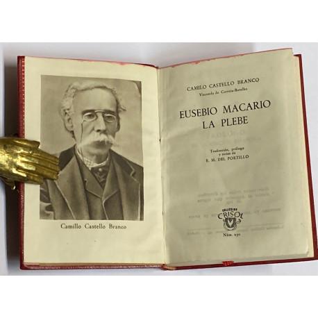 Eusebio Macario. La plebe.