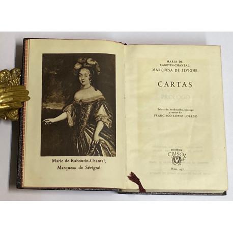 Cartas. Selección, traducción, prólogo y notas de Francisco López Loredo.
