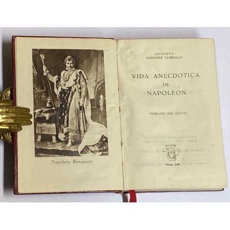 Vida anecdótica de Napoleón. Prefacio del autor.