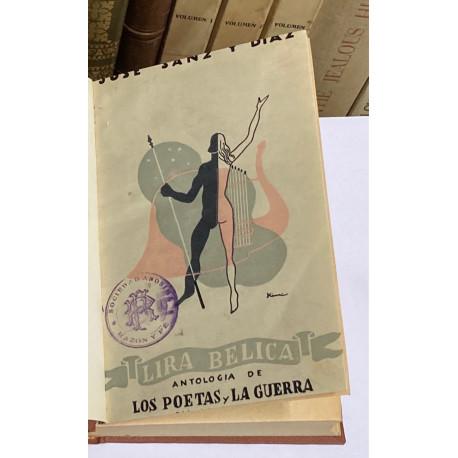 Lira bélica. Antología de los poetas y la guerra.