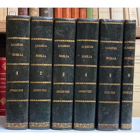 La Sagrada Biblia nuevamente traducida de la vulgata latina al español.
